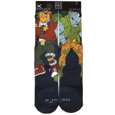 Odd Sox BeBop and Rocksteady Socks - Green
