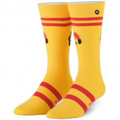 Odd Sox Cheech And Chong Varsity Socks - Yellow