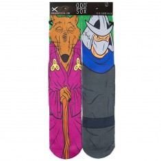 Odd Sox Splinter and Shredder Socks - Purple