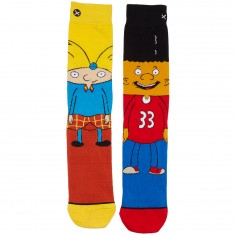 Odd Sox Arnold and Gerald Socks - Yellow