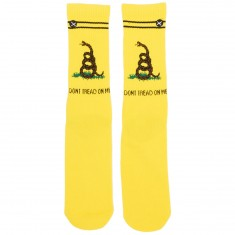 Odd Sox Dont Tread On Me Socks - Yellow