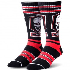 Odd Sox Texas Rattlesnake Socks - Black
