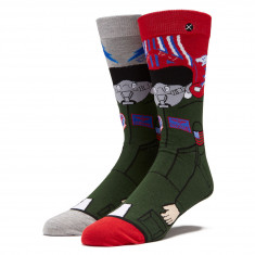 Odd Sox Wingmen Socks - Black