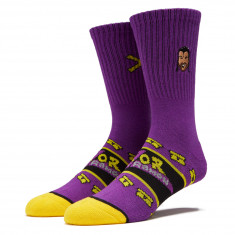 Odd Sox Razors Edge Socks - Purple