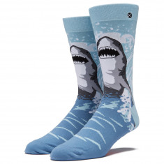 Odd Sox Great White Socks - Blue