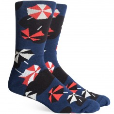 Richer Poorer Shorebird Socks - Navy
