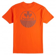 Habitat Lines Logo T-Shirt - Orange