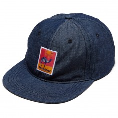 Habitat Gobi Patch Snapback Hat - Denim