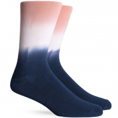 Richer Poorer Zuma Socks - Navy/Pink
