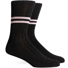 Richer Poorer Bixby Socks - Black Speckle