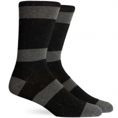 Richer Poorer London Socks - Charcoal/Black