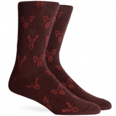 Richer Poorer Buck Socks - Brown