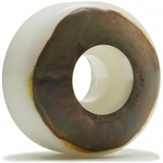 Habitat X Twin Peaks Chocolate Raised Skateboard Wheels - 50mm