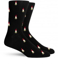 Richer Poorer Buddy Socks - Black
