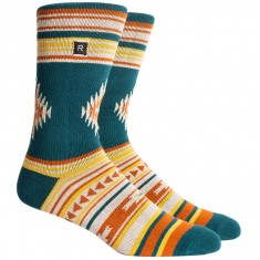 Richer Poorer Arlo Athletic Socks - Forest