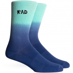 Richer Poorer Rad California Collection Crew Socks - Teal