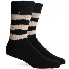 Richer Poorer Rambler Athletic Socks - Black/Tan