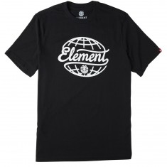 Element Fraction T-Shirt - Flint Black
