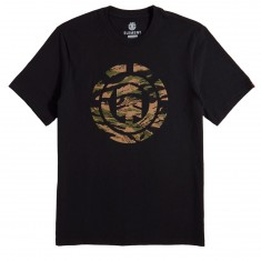 Element Sawtooth T-Shirt - Flint Black
