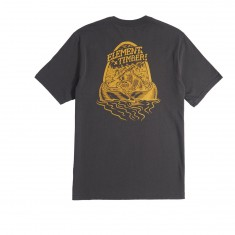Element Roar N Row T-Shirt - Off Black