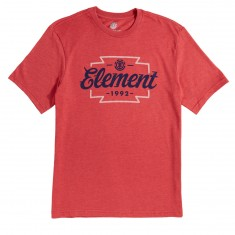 Element Wedge T-Shirt - Aurora Red Heather