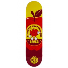 Element You Are What You Eat Apple Skateboard Deck - 7.90""