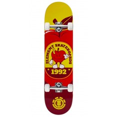 """Element You Are What You Eat Apple Skateboard Complete - 7.90"""""""