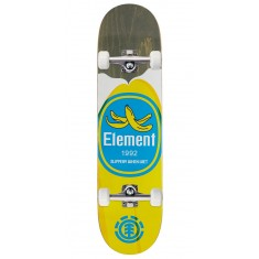 """Element You Are What You Eat Banana Skateboard Complete - 7.75"""""""