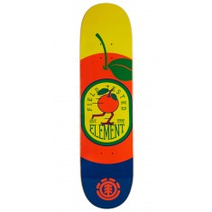Element You Are What You Eat Orange Skateboard Deck - 8.00""