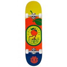 """Element You Are What You Eat Orange Skateboard Complete - 8.00"""""""