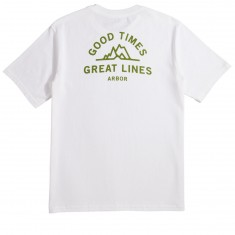 Arbor Mantra T-Shirt - White