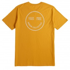 Arbor Happy Trails T-Shirt - Mustard