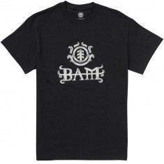 Element Bam T-Shirt - Flint Black