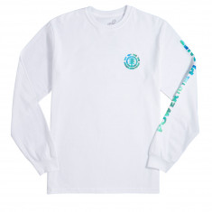 Element PTTP Earth Day Long Sleeve T-Shirt - Optic White
