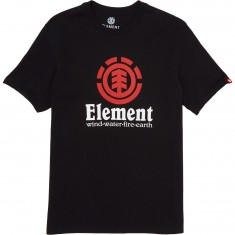 Element Versus T-Shirt - Flint Black