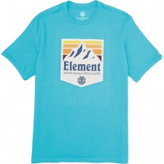 Element Shutter T-Shirt - Biscay Bay