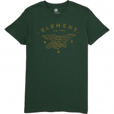 Element Versus T-Shirt - Hunter Green