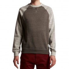 Element Meridian Block Crewneck Shirt - Charcoal Heather