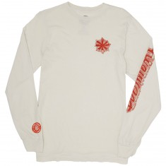 Element Wompus Longsleeve T-Shirt - Off White