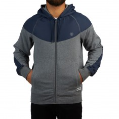 Element Steel Zip Hoodie - Grey Heather