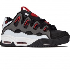 Osiris D3 2001 Shoes - White/Black/Red