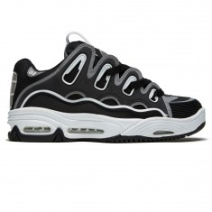 Osiris D3 2001 Shoes - Black/Grey/White