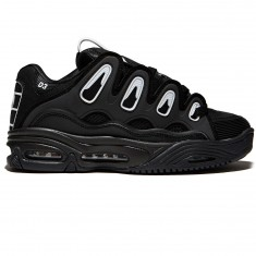 Osiris D3 2001 Shoes - Black/White/Black