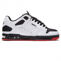Osiris Peril Shoes - White/Black/Red