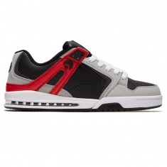 Osiris PXL Shoes - Light Grey/Black/Red