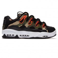Osiris D3 2001 Shoes - Black/Orange/Camo