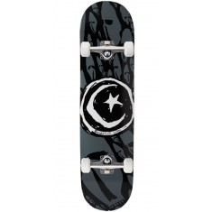 Foundation Star And Moon Skulls Skateboard Complete - 8.125""