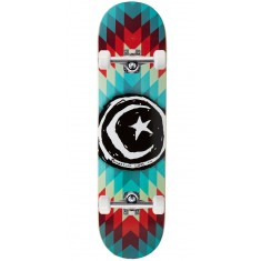 Foundation Star And Moon Navajo Skateboard Complete - 8.00""