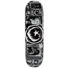 Foundation Star And Moon Zine Skateboard Deck - 8.50""