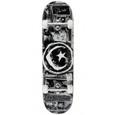 Foundation Star And Moon Zine Skateboard Complete - 8.50""